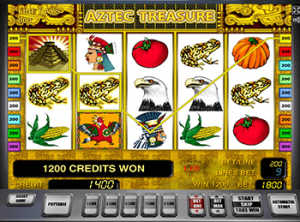 Играть онлайн в Aztec Treasure в казино