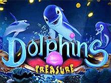 Игровые автоматы Dolphins Treasure от Playson в мобильном казино